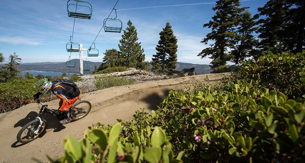 Big Bear Lake mountain bike park