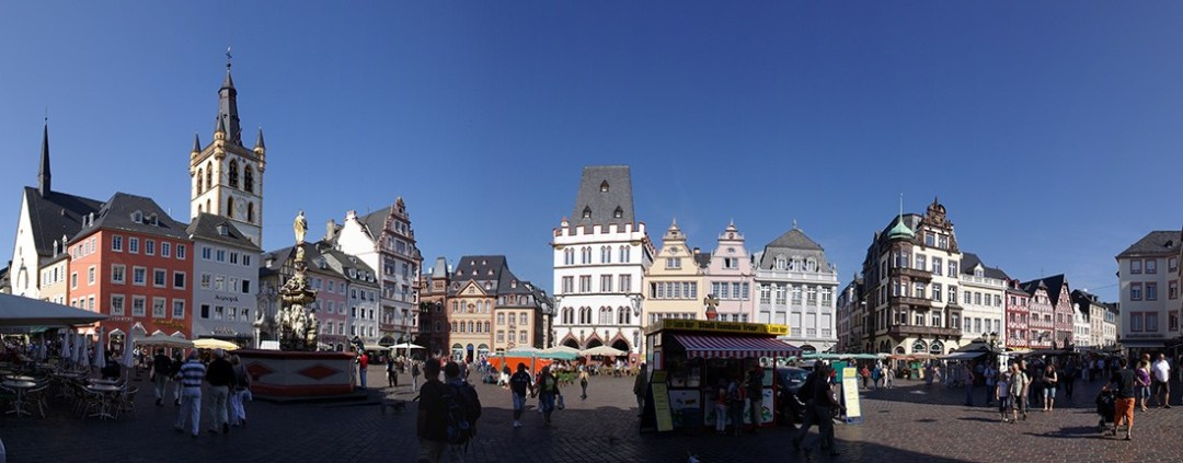 What to see and do in Trier: Hauptmarkt in Trier Germany