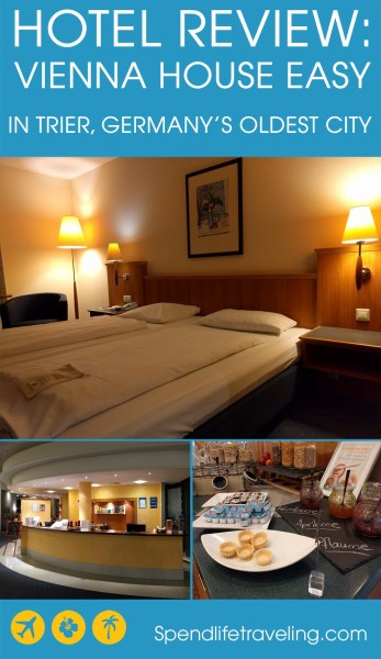 hotel review of Vienna House Easy in Trier, Germany