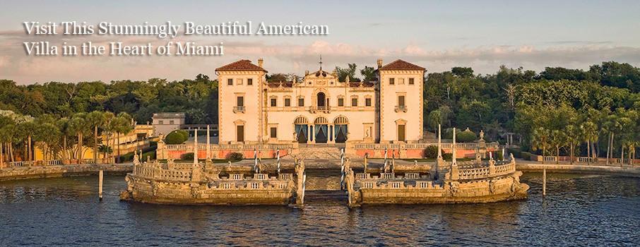 Vizcaya villa in Miami, Florida