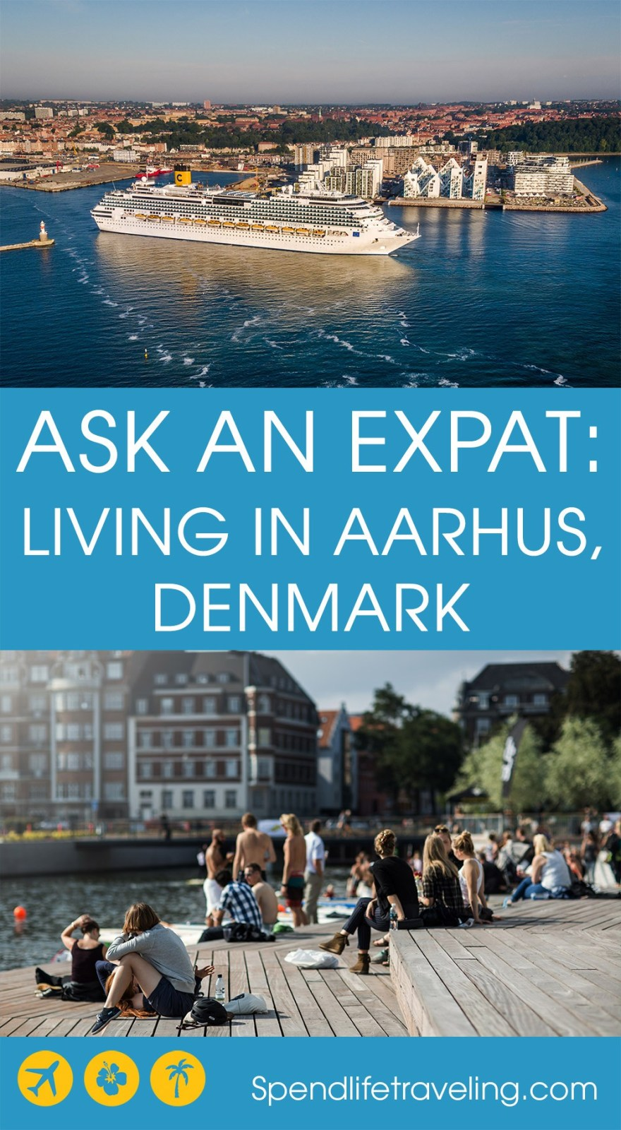 What is Aarhus, Denmark, really like? Interview with an expat about moving to and living in #Aarhus. #expat #movetoDenmark