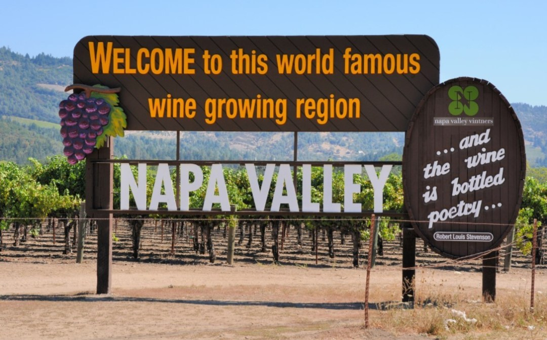 Top camping spots in California: Napa Valley