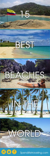 15 Of The Best Beaches in The World - Selected by Travel Bloggers. Are you looking for that perfect beach? Then you have to check out some of these! #bestbeach #perfectbeach #traveltips #beachvacation #beachdestination