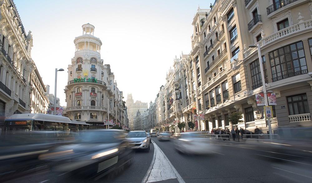 living in Madrid, Spain