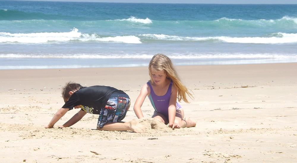 Costa Brava's many child friendly beaches
