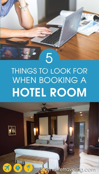 The 5 most important things to look for when booking a hotel room. A recent study reveiled what really matters to travelers when it comes to finding that perfect hotel room or Airbnb. And the results might surprise you! #besthotel #bookahotel #travel #traveltips