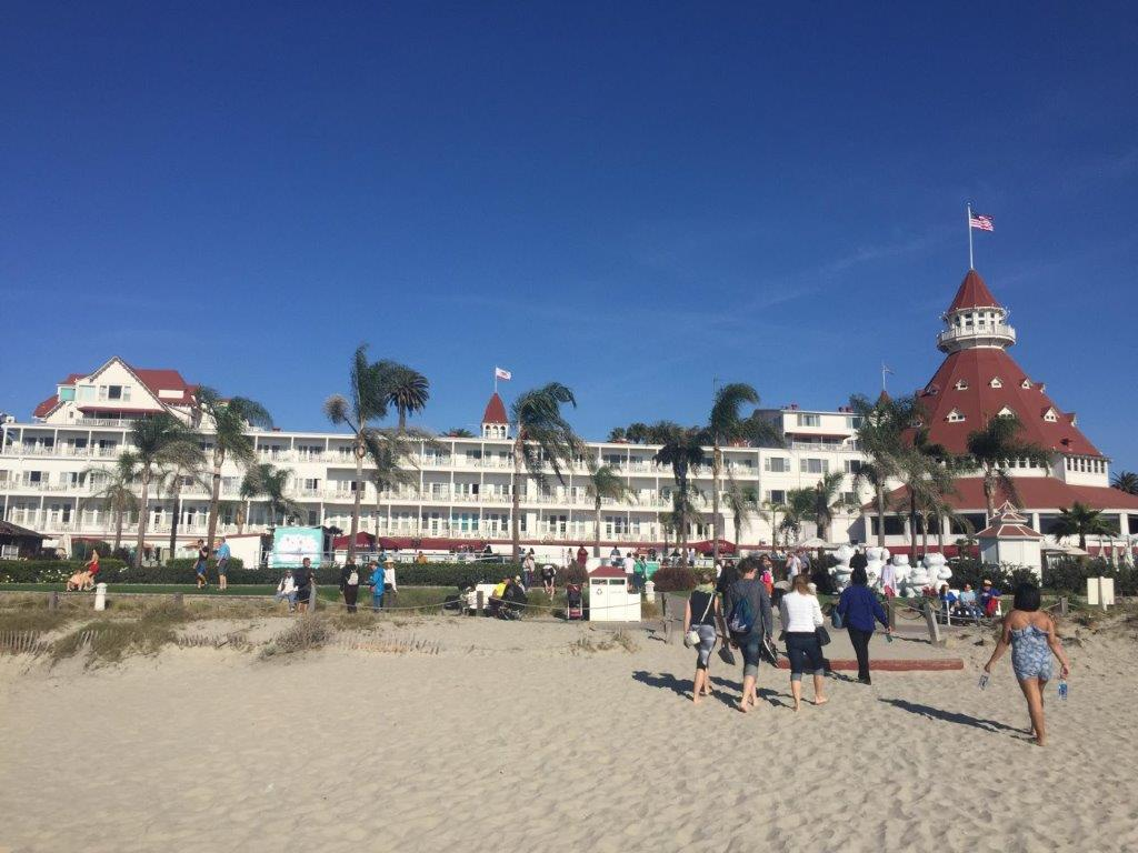 What to see and do on a short trip to San Diego: go to Hotel del Coronado