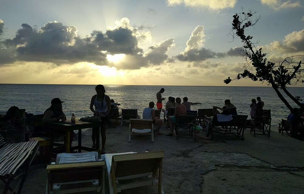 The Best Place to Watch The Sunset on San Andres Island, Colombia