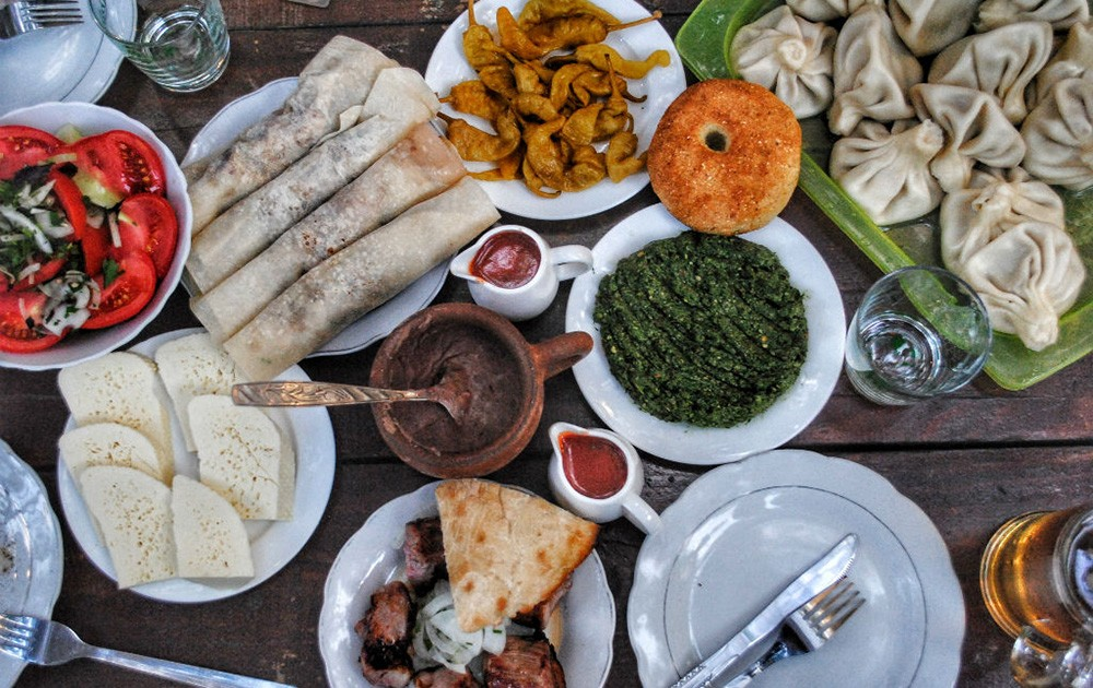 Things not to miss when visiting Georgia - Georgian food