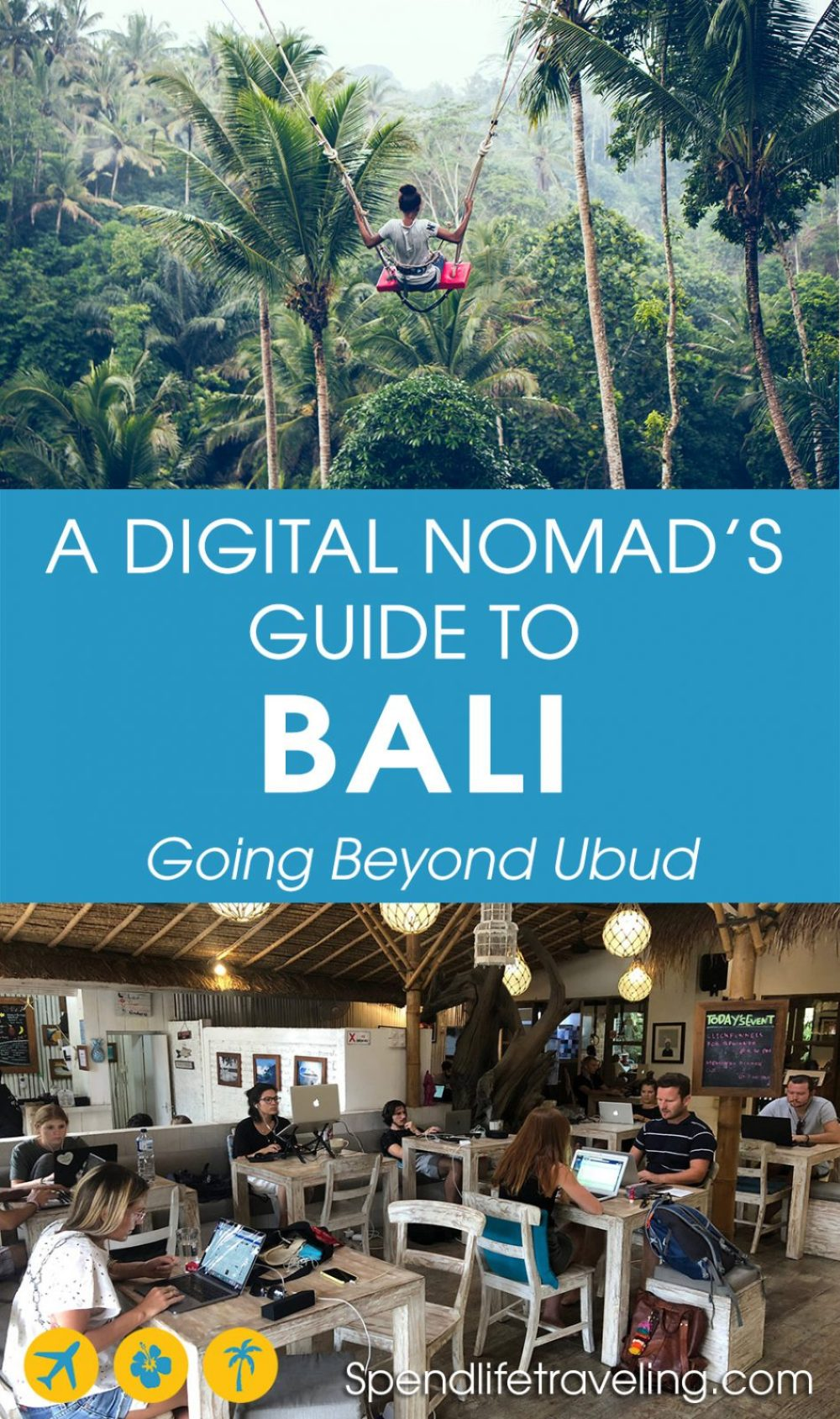 Bali is one of the most popular destinations for digital nomads. Why? Check out this article to learn more about what to do and where to go when traveling to Bali as a digital nomad. #digitalnomad #workremotely #Bali #Indonesia #nomadlife