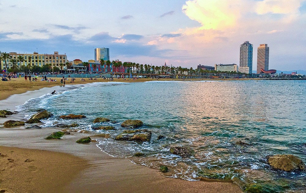 Barcelona's beautiful beach - Interview with an expat about moving to and living in Barcelona
