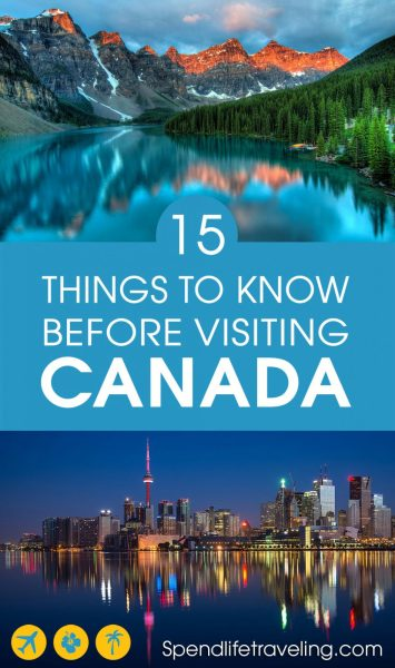 Did you know that #Canada is the second largest country in the world? If you are thinking about visiting Canada or just want to know more about this incredible country, check out these 15 interesting things to know about Canada. #traveltip #traveler #whytravel #traveltheworld