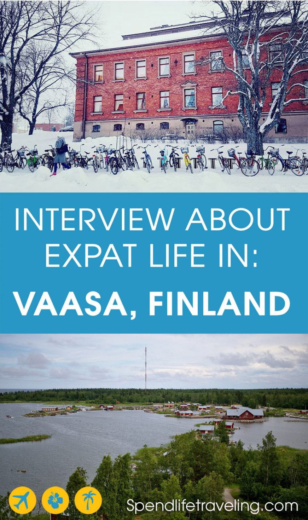 #Vaasa, on Finland's west coast, is a very international city. But what is it really like to move to and live in Vaasa? Check out this interview with an #expat. #moveabroad #workabroad #liveabroad #Finland