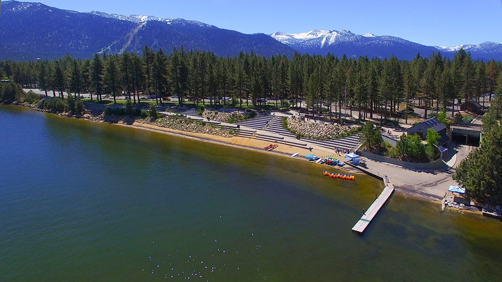 Things to do in South Lake Tahoe: go to the beach