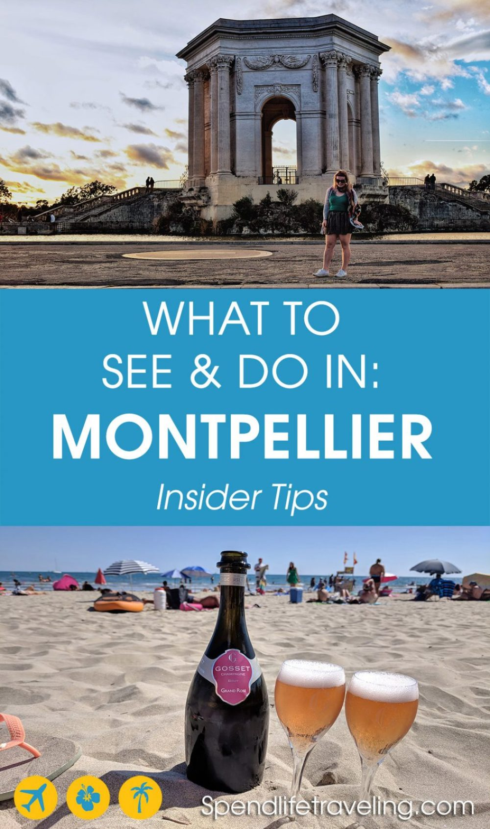 What to see & do, where to eat & drink, and where to stay in #Montpellier - a beautiful city in the South of France. #visitFrance #traveltips #citybreak #weekendbreak #travelFrance