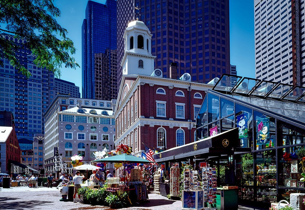 Places to visit in Boston, MA: Faneuil Hall Marketplace