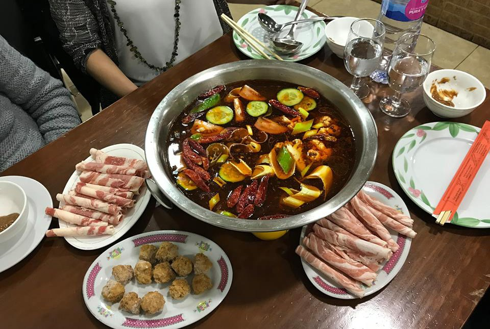 Trying out some of the best Chinese restaurants in Valencia - The Hot Pot at Hot Pot Wenzhou