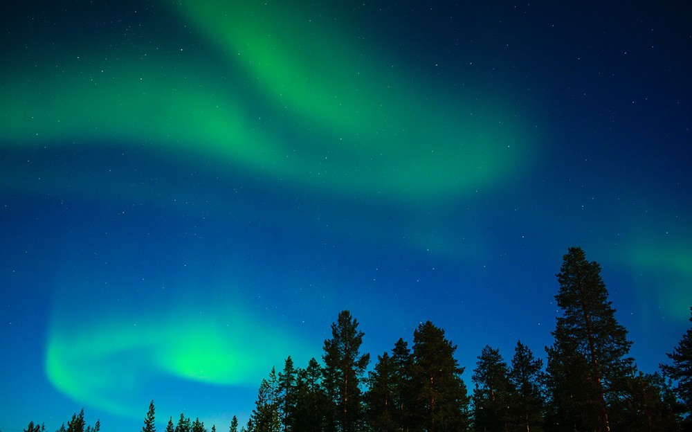 What are northern lights or aurora borealis - seeing the northern lights in Lapland