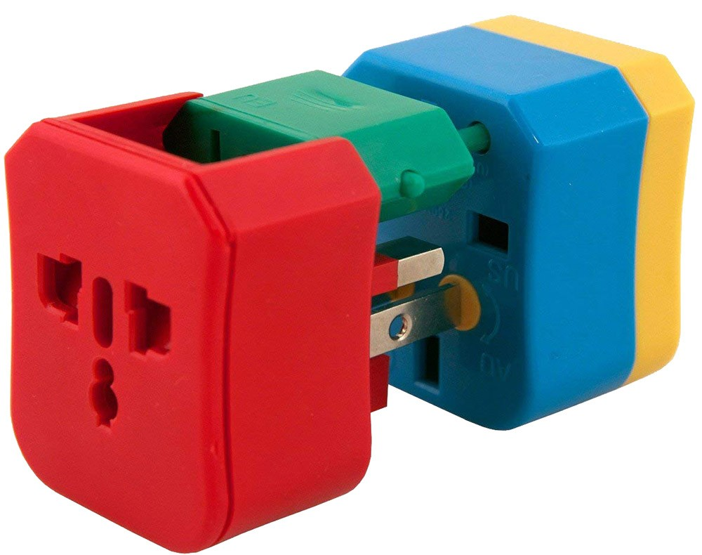 gift ideas for nomads: a world adapter