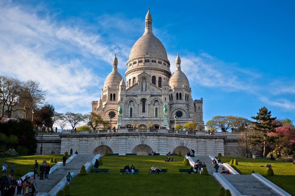 A 4 day itinerary for Paris, France - Sacre Coeur