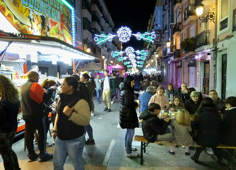 Las Fallas - one giant street party