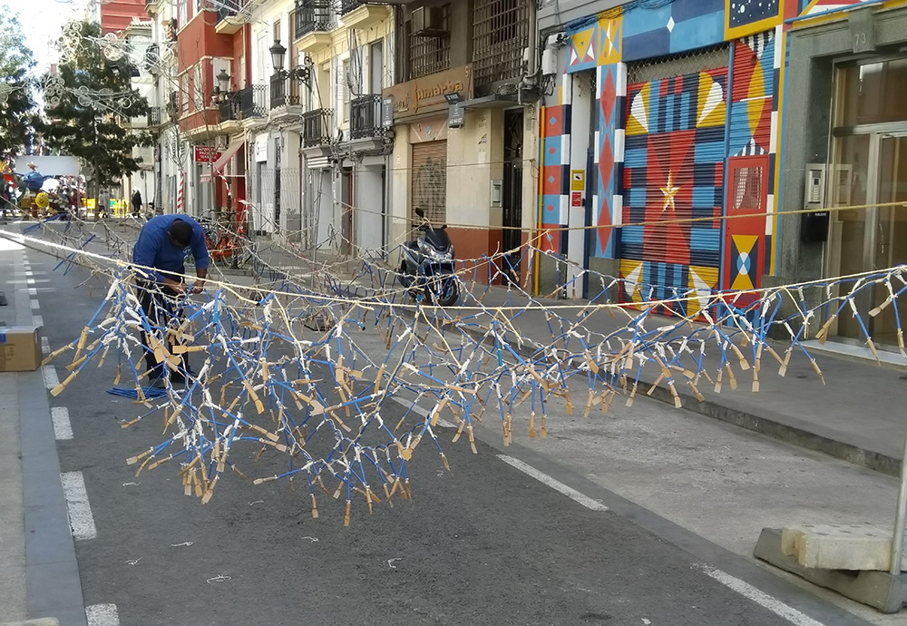 Things to know about celebrating Fallas in Valencia - Mascletas everywhere