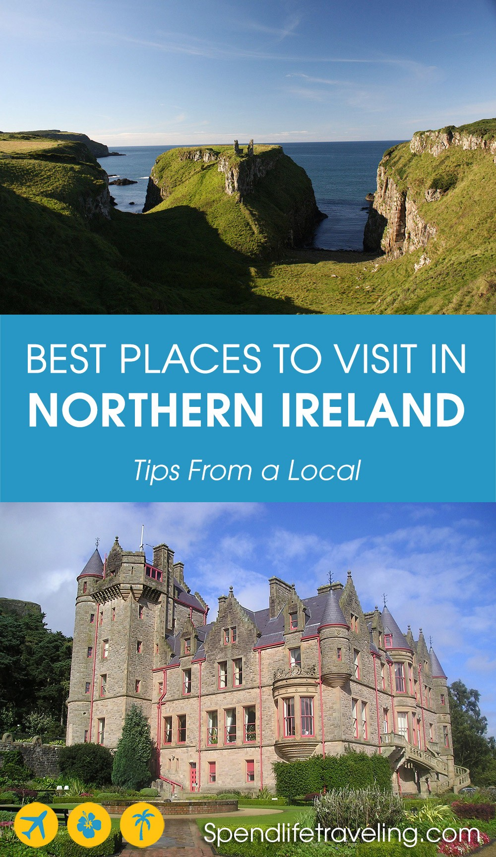Must-visit places and things to do in Northern Ireland. #NorthernIreland #travelIreland #visitIreland