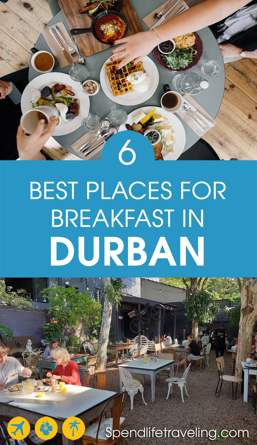 Are you looking for the best breakfast places in #Durban, South Africa? Check out these 6 spots. #southafrica #Durbanbreakfast