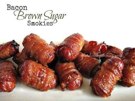 Bacon Brown Sugar Smokies | Spend with Pennies