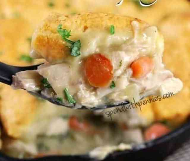 Skillet Chicken And Dumplings This Dish Is So Easy To Make And So Delicious