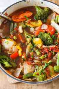 Weight Loss Vegetable Soup {w/ Amazing Flavor} - Spend ...