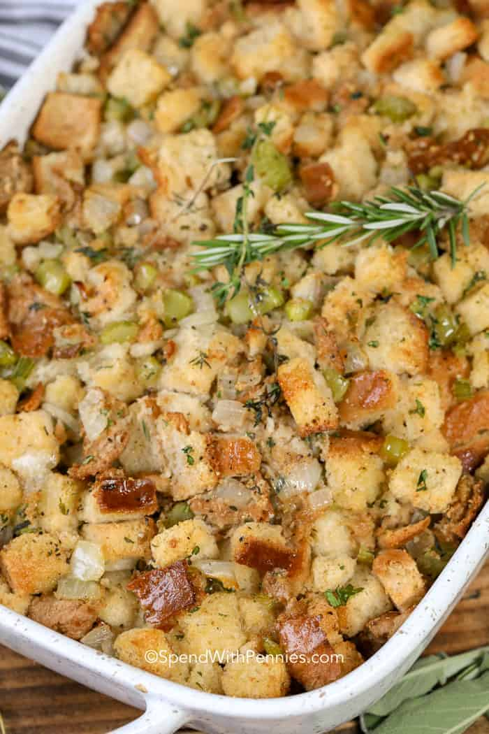 Special Onion Bread Stuffing