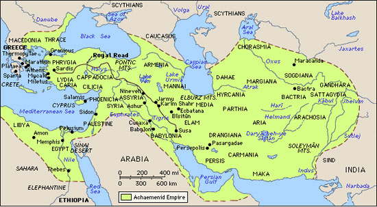 Persian Empire Cyrus The Great