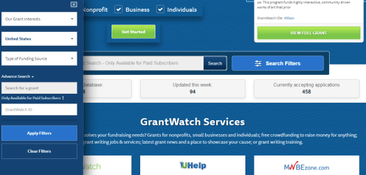 GrantWatch image