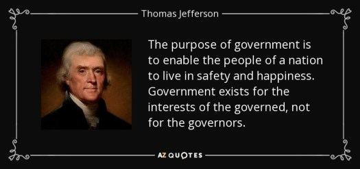 Government purpose quote image
