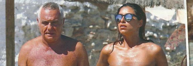 Giorgio Panariello e Claudia Maria Cappellini