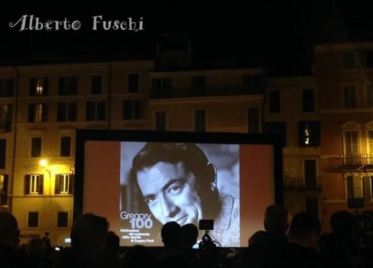 Centenario di Gregory Peck a Roma
