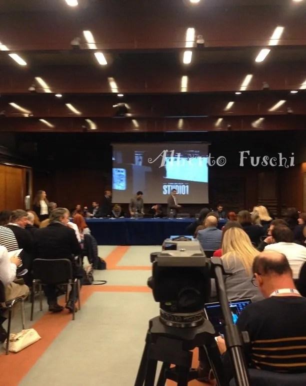 Sala conferenze Rai, Mazzini