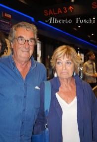 Neri Parenti e moglie Vivienne