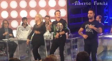Fabio Rovazzi e Luciana Littizzetto