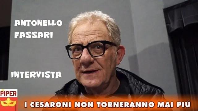 «I Cesaroni non torneranno mai più» Antonello Fassari intervista esclusiva di Alberto Fuschi