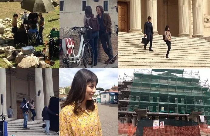 L'Allieva 2, ricordando il set: Un anno fa l'ultimo ciak, foto, aneddoti e video esclusivi dalle riprese e intanto l'Istituto va al restauro (British School at Rome)
