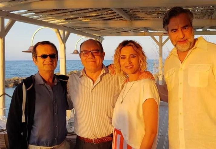 """Verdone in Puglia sul set del suo nuovo film """"Si vive una volta sola"""""""