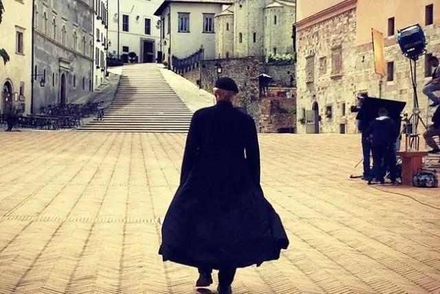 Don Matteo 12 riprese a Spoleto, le foto dei fan