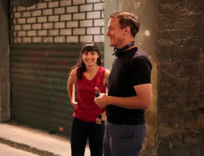 """Calcio Storico Fiorentino 2019, Alberto Fuschi intervista Evan Oppenheimer regista di """"Lost in Florence"""" film con Brett Dalton, Stana Katic e Alessandra Mastronardi"""