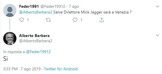 venezia 76 anticipazioni date mick jagger