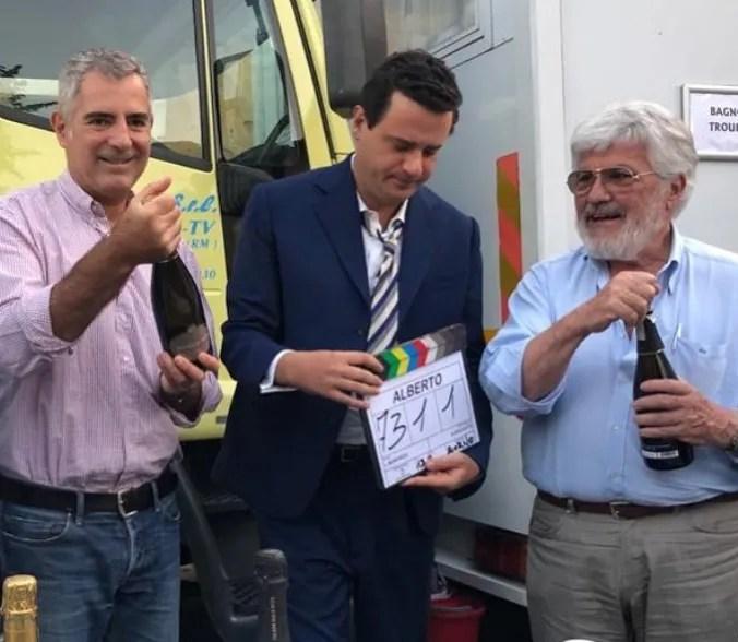 """È pronto Edoardo Pesce versione Alberto Sordi, il film tv """"Alberto"""" in onda su Rai 1 nel 2020"""