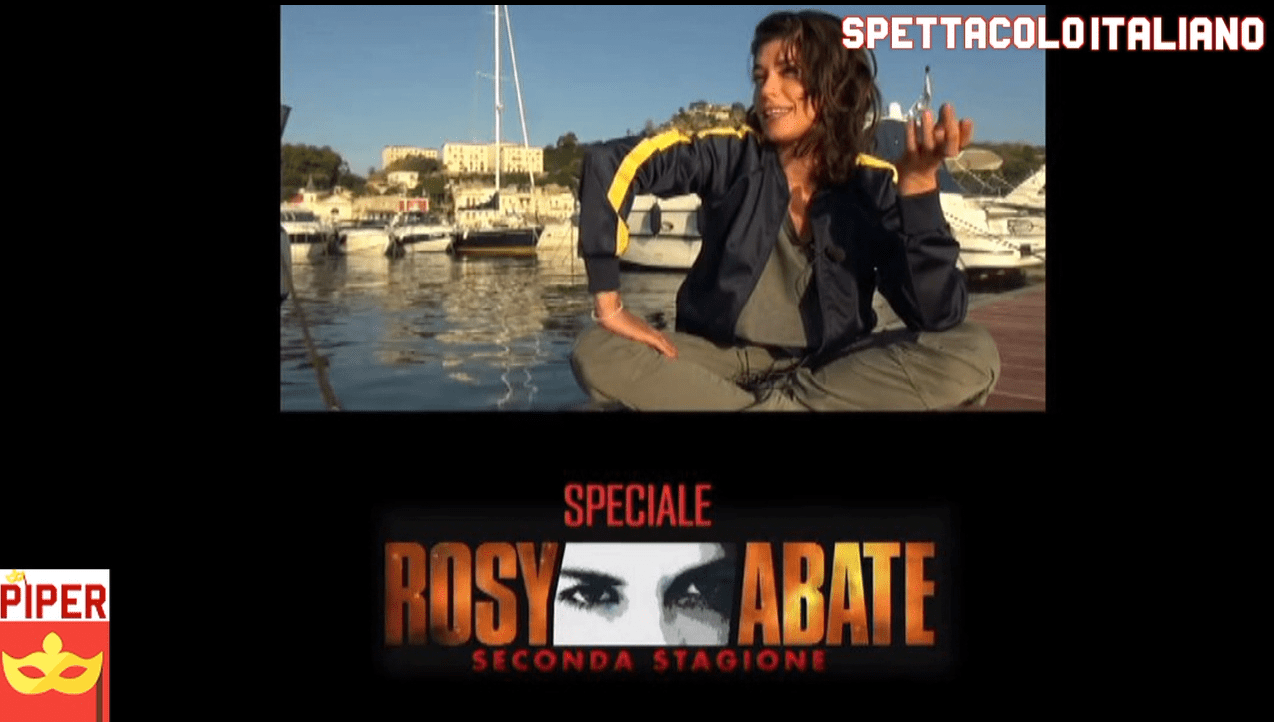 Rosy Abate 2 il Backstage (VIDEO)