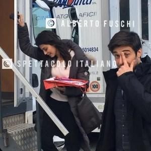 L'Allieva 3 Lino Guanciale e Alessandra Mastronardi sul set a Grottaferrata (foto esclusive dalle riprese)