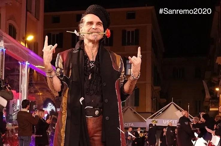 Sanremo 2020 cantanti seconda serata scaletta in ordine: cominciano Piero Pelù ed Elettra Lamborghini